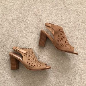 85d5571d1cb Anthropologie Shoes - Anthropologie. Miss Albright Baka Slingback Sandal